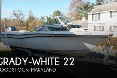 1989 Grady White Seafarer 22
