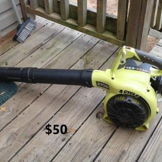 RYOBI 4 CYCLE BLOWER / NO MIXING REQUIRED