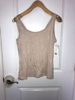 Vie Activewear tank in Stone. NWT. Size M.