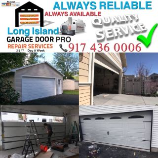 NEW YORK & LONG ISLAND-GARAGE DOOR REPAIR AND INSTALLATION SERVICE