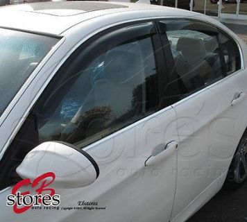 Find Vent Shade Window Visors Deflector Nissan Frontier 05 06 07 08-12 Crew Cab 4pcs motorcycle in La Puente, California, US, for US $26.95