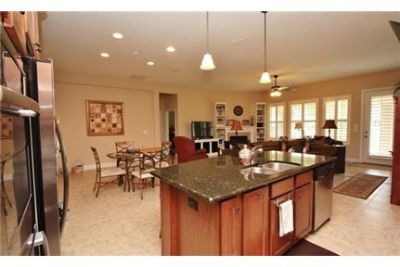 Elegant and open living space abounds in this home. 3+ Car Garage!
