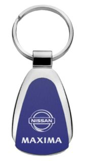 Sell Nissan Maxima Blue Teardrop Keychain / Key fob Engraved in USA Genuine motorcycle in San Tan Valley, Arizona, US, for US $14.61