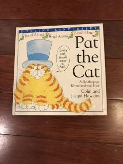 Pat the cat hard cover book ppu only