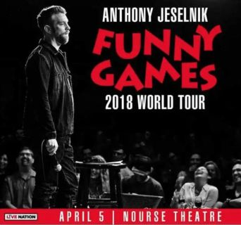 2 Anthony Jeselnik Comedy Show Tickets for This Thursday in SF