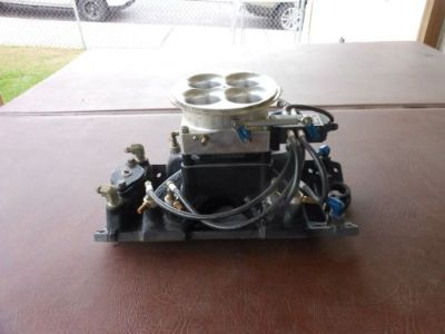 Sell small block chevy kinsler throttlebody fuel injection motorcycle in Kulpmont, Pennsylvania, United States, for US $1,250.00