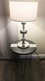 End table, side table, nightstand, plant stand, hairpin legs