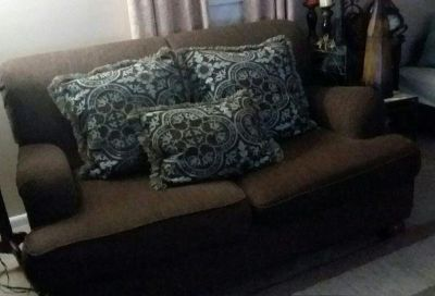 (OVERSIZED) LOVE-SEAT FROM ASHLEY FURNITURE......EXCELLENT CONDITION