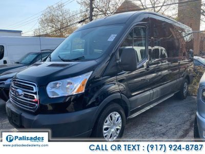 "2017 Ford Transit Wagon T-350 148"" Med Roof XLT Slidin (Black)"