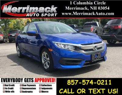 2016 Honda CIVIC SEDAN 4dr CVT LX (Aegean Blue Metallic)