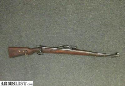 For Sale: WWII GERMAN 98K MAUSER RIFLE W/ ZF 41 SCOPE