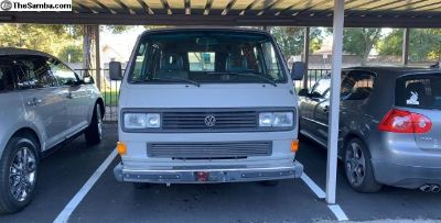 1986-91 Vanagon grille and headlight assemblies