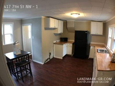 3 bed / 1 bath - Recently renovated - Includes water, lawn, parking.