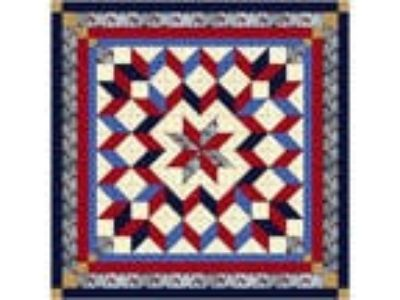 Quilt Kit/Galaxy Star/Patriotic /Pre-cut Fabrics Ready To