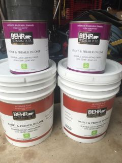 Behr Interior Paint-12 gallons