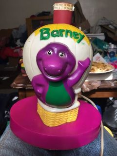 Barney Lamp without lampshade