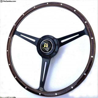 Stealth Wolfsburg Black Steering Wheel