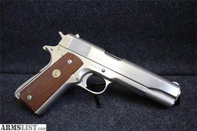 For Sale: Colt MKIV Series 70 Gov't Model Item P-296