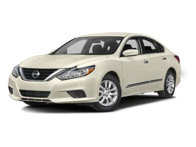 2016 Nissan Altima 2.5 (Super Black)