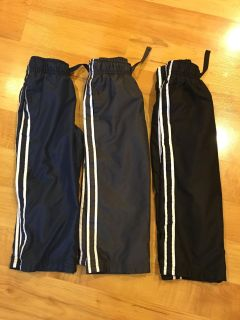 Lot of 3...3T light weight pants....Jumping Beans one pair has some paint on them...see pic