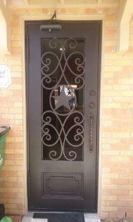 Puertas Rectangulares de Hierro