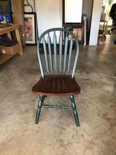 Wooden Chair (Project Piece)