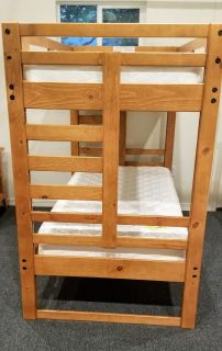 Twin Bunk Bed Set, and bunk boards-EXCELLENT CONDITION