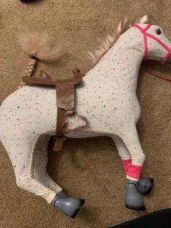 18 inch Doll Horse
