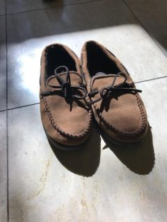 Moccasin Slippers 7-8