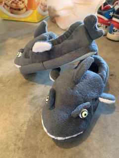 $10 New Without Tags Kid s Shark Slippers!