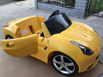 Ferrari power wheels