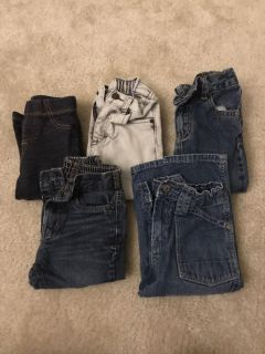 5 Pairs of Jeans
