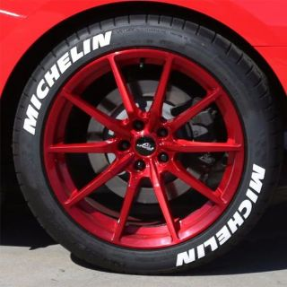 "Sell Tire Letters - ""MICHELIN"" 1"" For 18""-19"" Wheels (4 decals) - low profile motorcycle in Van Nuys, California, United States, for US $74.99"