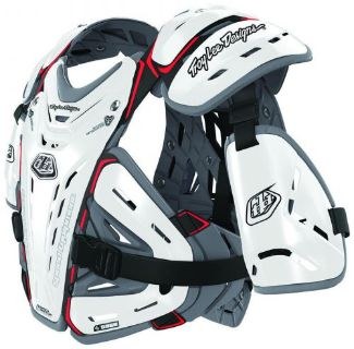 Find Troy Lee Designs Bodyguard 5955 MX/Offroad Body Protector White motorcycle in Holland, Michigan, United States, for US $199.00