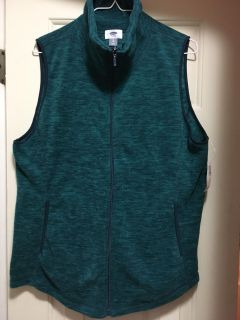 NEW WITH TAGS Old Navy Fleece Vest Size XL