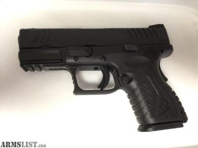 """For Sale: 9mm Springfield XDM Compact 3.8"""""""