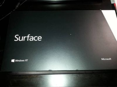 New - Microsoft Surface RT 32GB, Wi-Fi, 10.6in Tablet