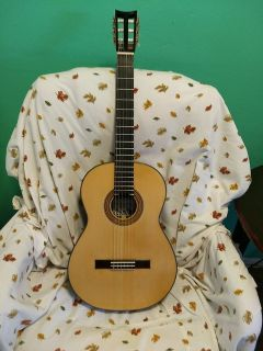 HAND MADE CLASSICAL GUITAR - LARGER NECK FOR MY LONG FINGERS