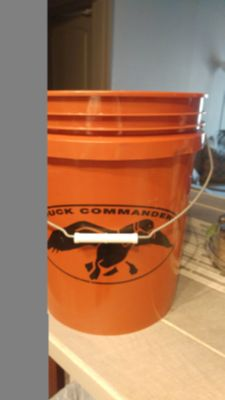 Duck Commander 5 gallon bucket. MEET AT TARGET WEEKDAYS AFTER 40