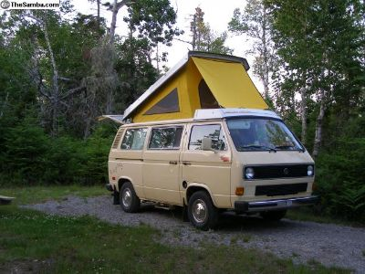 Vanagon LONG Rainfly with Bungees 80-91 Westfalia