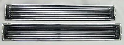 Find 1967 67 Chevelle SS Hood Insert Louvers * Show Quality SET * El Camino motorcycle in Oklahoma City, Oklahoma, United States, for US $99.75