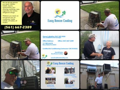 A/C Air Conditioning Services Install|Repairs|AC Not cooling?