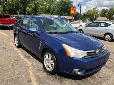2008 Ford Focus SE (Blue)
