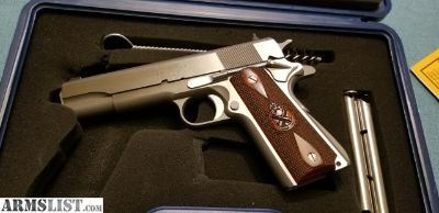 For Sale: Stainless Springfield 1911