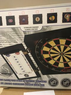 NHL Dart Board - Ottawa Senators