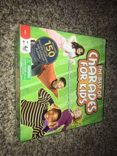 VGUC THE BEST OF CHARADES FOR KIDS BOARD GAME