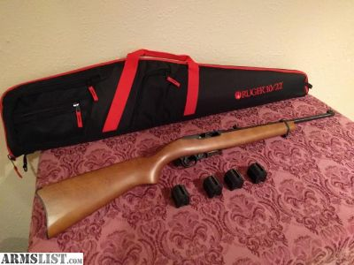 For Sale: Ruger 10/22, 4 mags