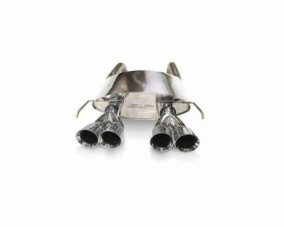 Sell SLP 31079 POWERFLO AXLE-BACK EXHAUST W/ROUND TIPS 2005-2008 C6 CORVETTE LS2/LS3 motorcycle in Itasca, Illinois, United States, for US $719.95