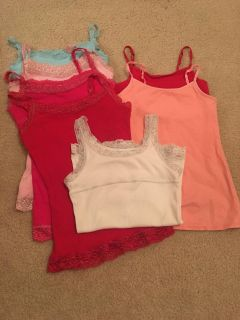 7 Justice tanks size 6/7