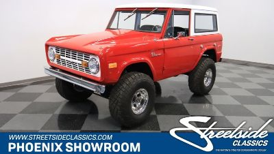 1975 Ford Bronco 4x4 Fuel Injected